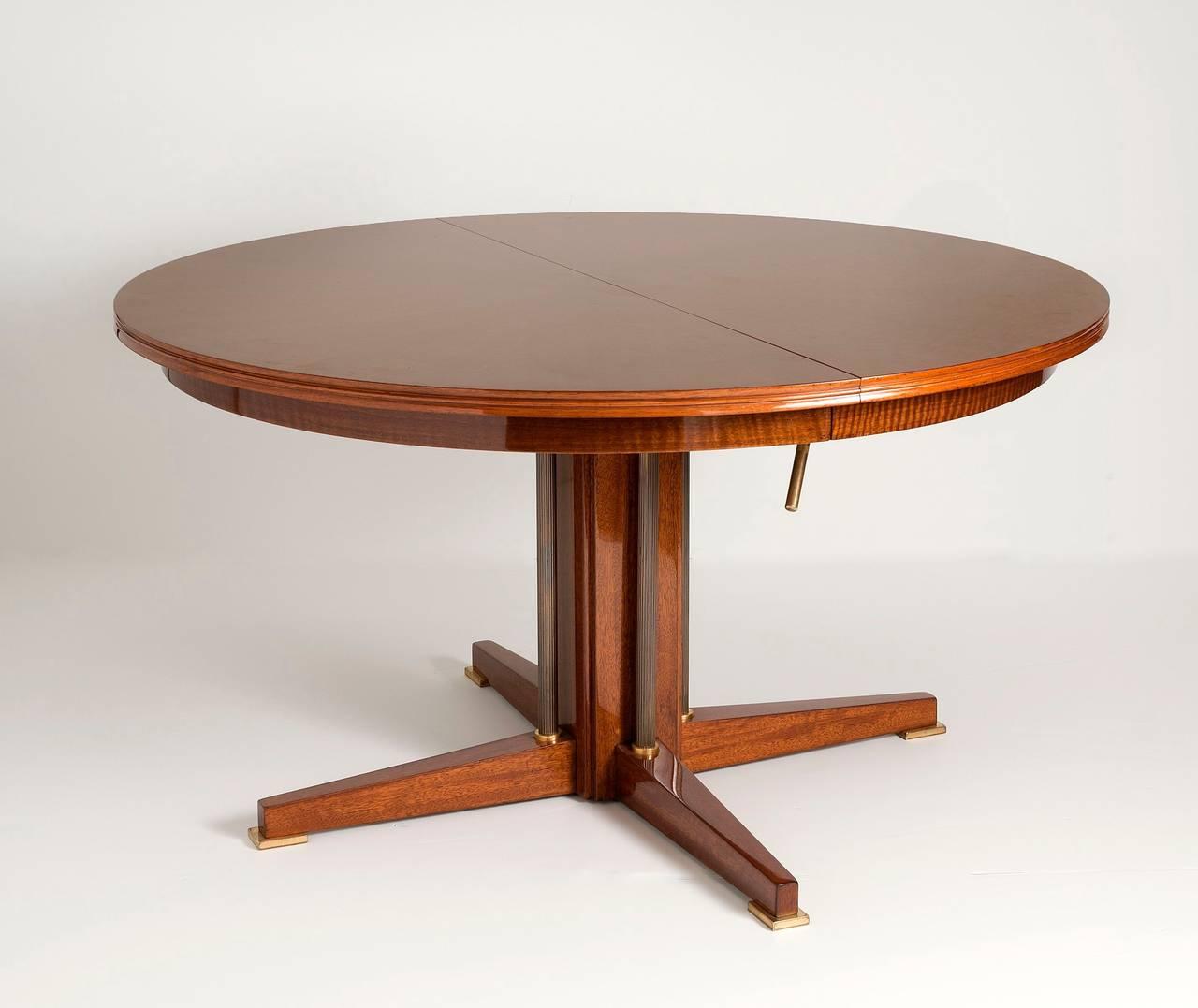 Maison Leleu, Rare Adjustable Table, France, circa 1965 2