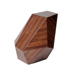 "Achille Salvagni, ""Emerald"" Marquetry Side Table, Italy, 2014"