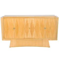Pale Oak Cabinet, France, C. 1948