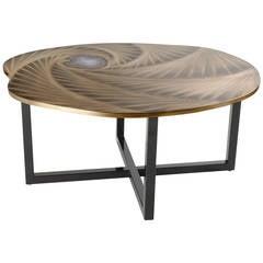 """Tourbillon"" Coffee Table by Franck Chartrain"