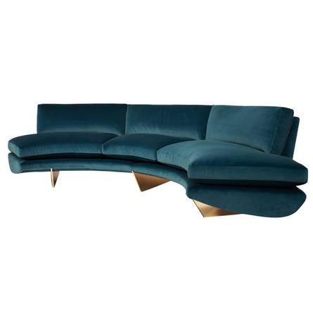 "William T. Georgis, ""Whalebone"", Sofa, USA, 2014"