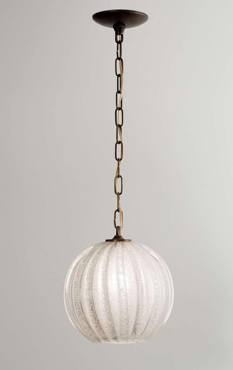 italian pendant light fixture in murano glass at 1stdibs