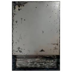 """Elysium-Sky"" Contemporary Églomisé Mirror by Kiko Lopez"