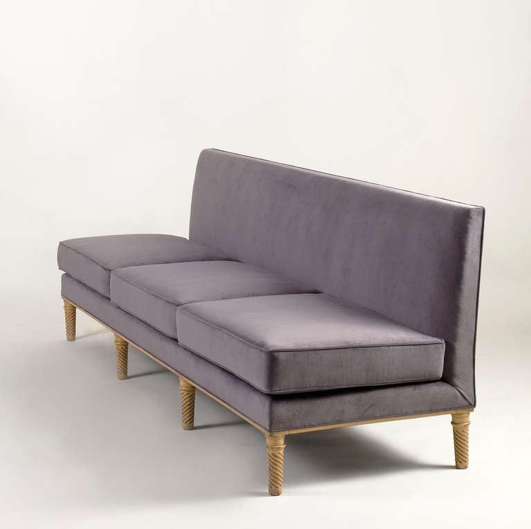 French Maison Ramsay, Settee, France, C. 1950 For Sale