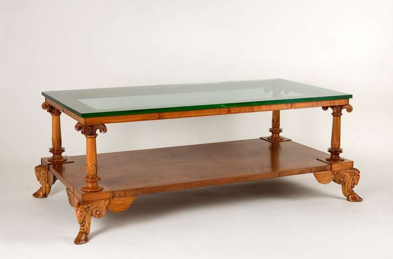 Fine And Rare Coffee Table By T H Robsjohn Gibbings At 1stdibs