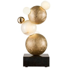 "Achille Salvagni, ""Bubbles,"" Bronze Table Lamp, Italy, 2013"