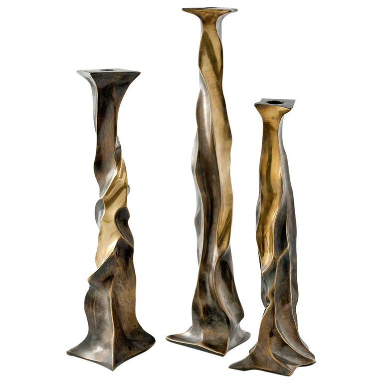 """Aldus, """"Nitor"""" Candlestick, Italy, 2014 For Sale"""