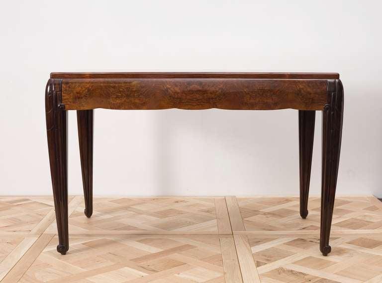 French Pierre-Paul Montagnac, Art Deco Table, France, 1926 For Sale