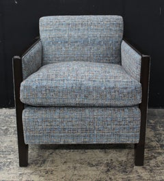 Chic And Very Comfortable Custom Club Chair