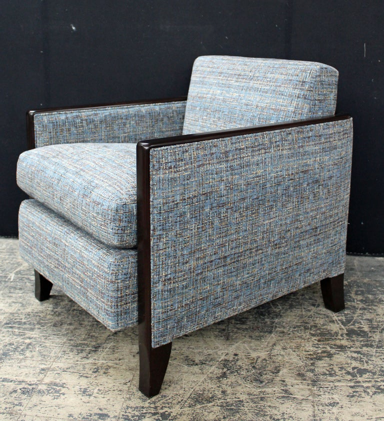 Chic And Very Comfortable Custom Club Chair For Sale At
