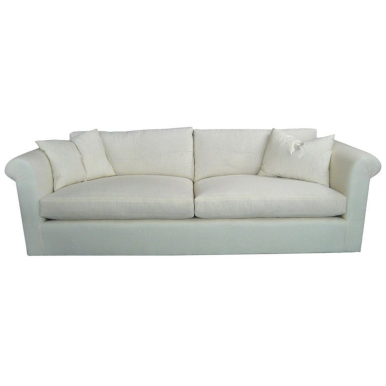 Modern Comfortable Sofa: Very Comfortable, Fully Refurbished Mid-Century Modern
