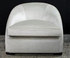Elegant Lafon inspired club chair