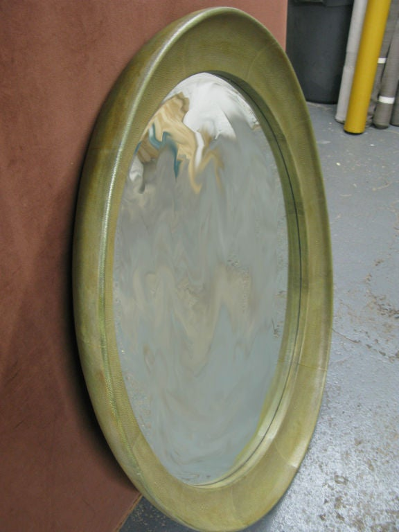spectacular parisien style ovale oeil de boeuf shagreen. Black Bedroom Furniture Sets. Home Design Ideas