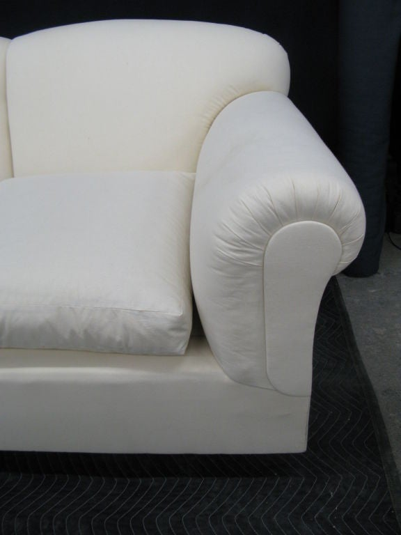 Large Comfortable Tight Back Loose Seat Sofa For Sale At