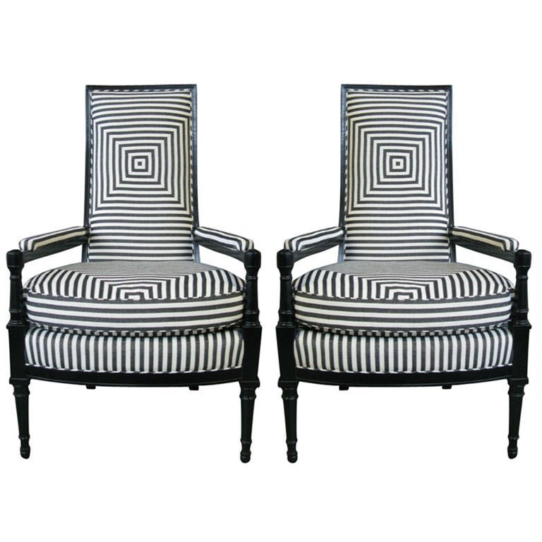 Pair Of French 1930 39 S Armchairs At 1stdibs