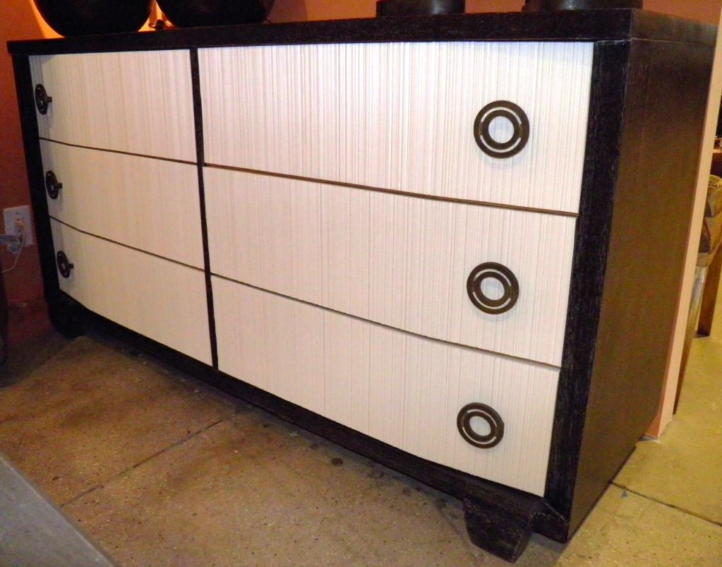 refurbish kitchen cabinets cerused mahogany dresser and nightstand suite at 1stdibs 1815