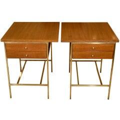 Pair of Paul McCobb End Tables