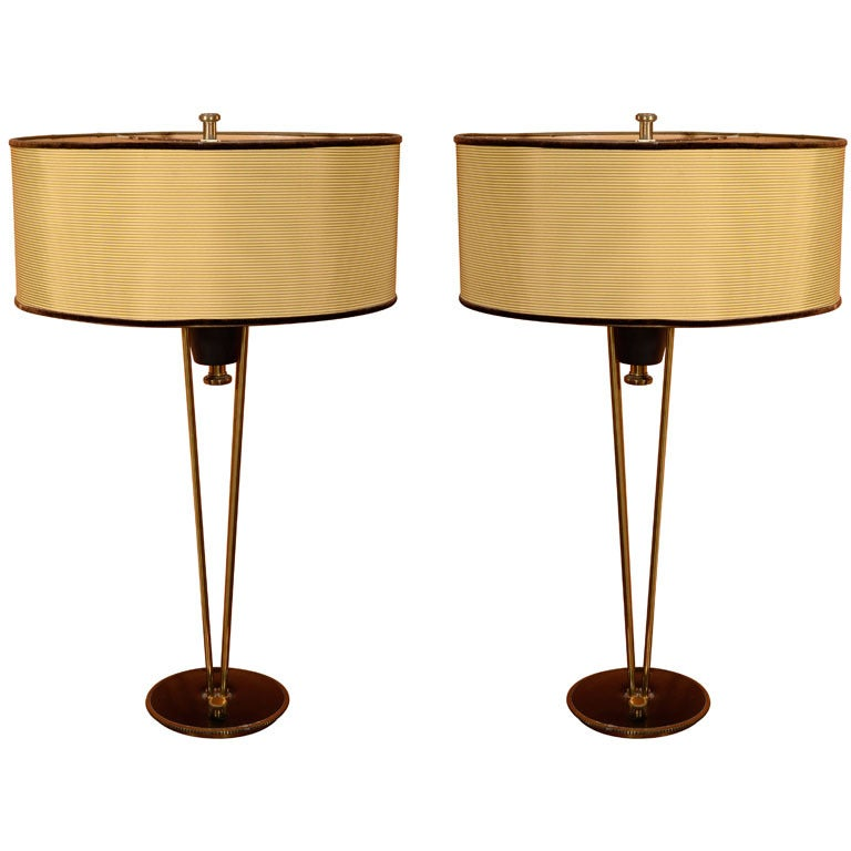 Mid Century Rembrandt Lamp: Vintage Mid Century Table Lamps At 1stdibs