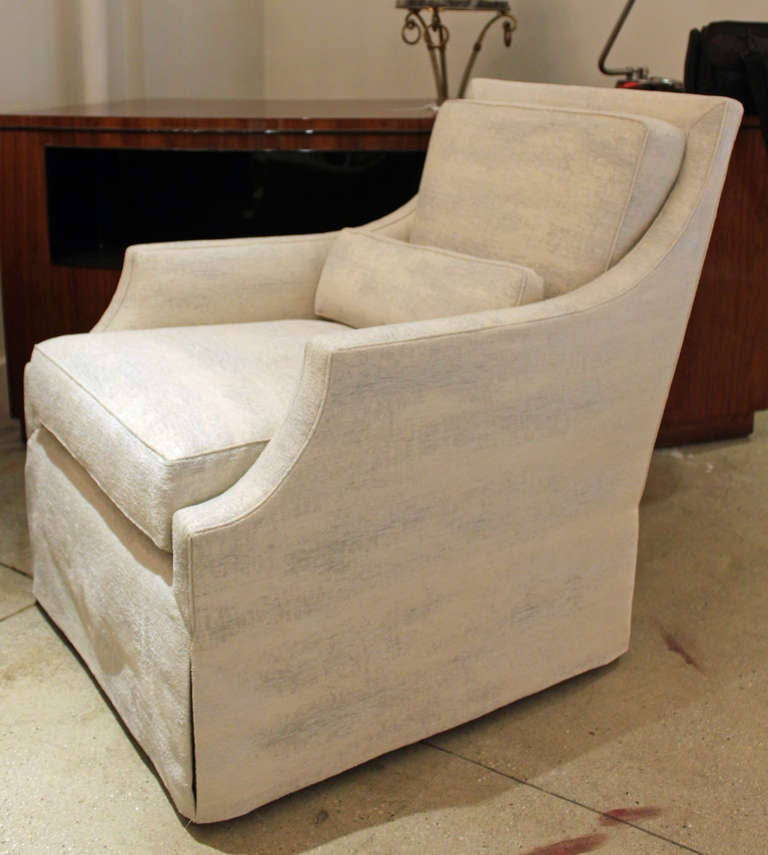 Elegant And Comfortable Club Chair At 1stdibs