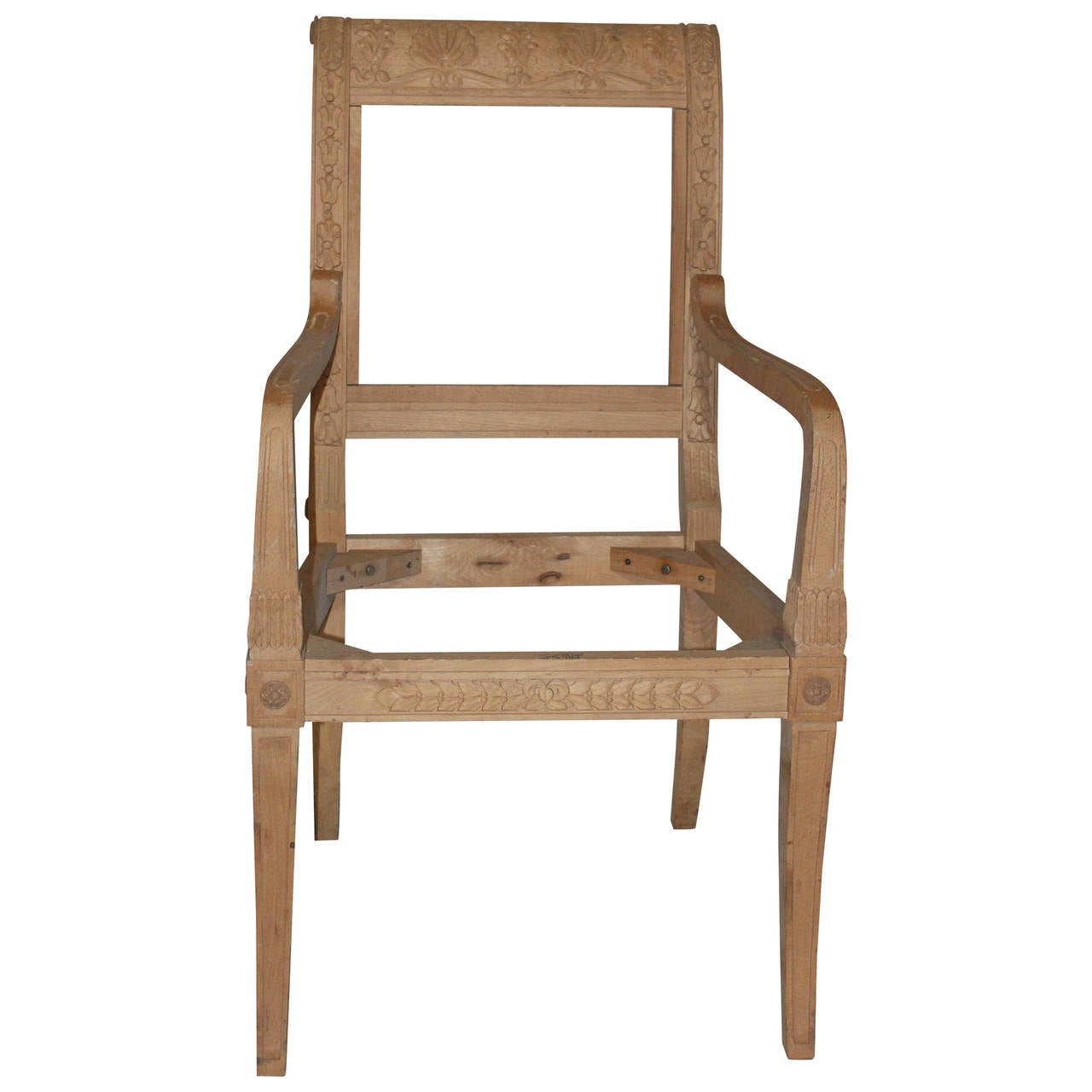 nicely carved and detailed dining chair frames from the david barrett