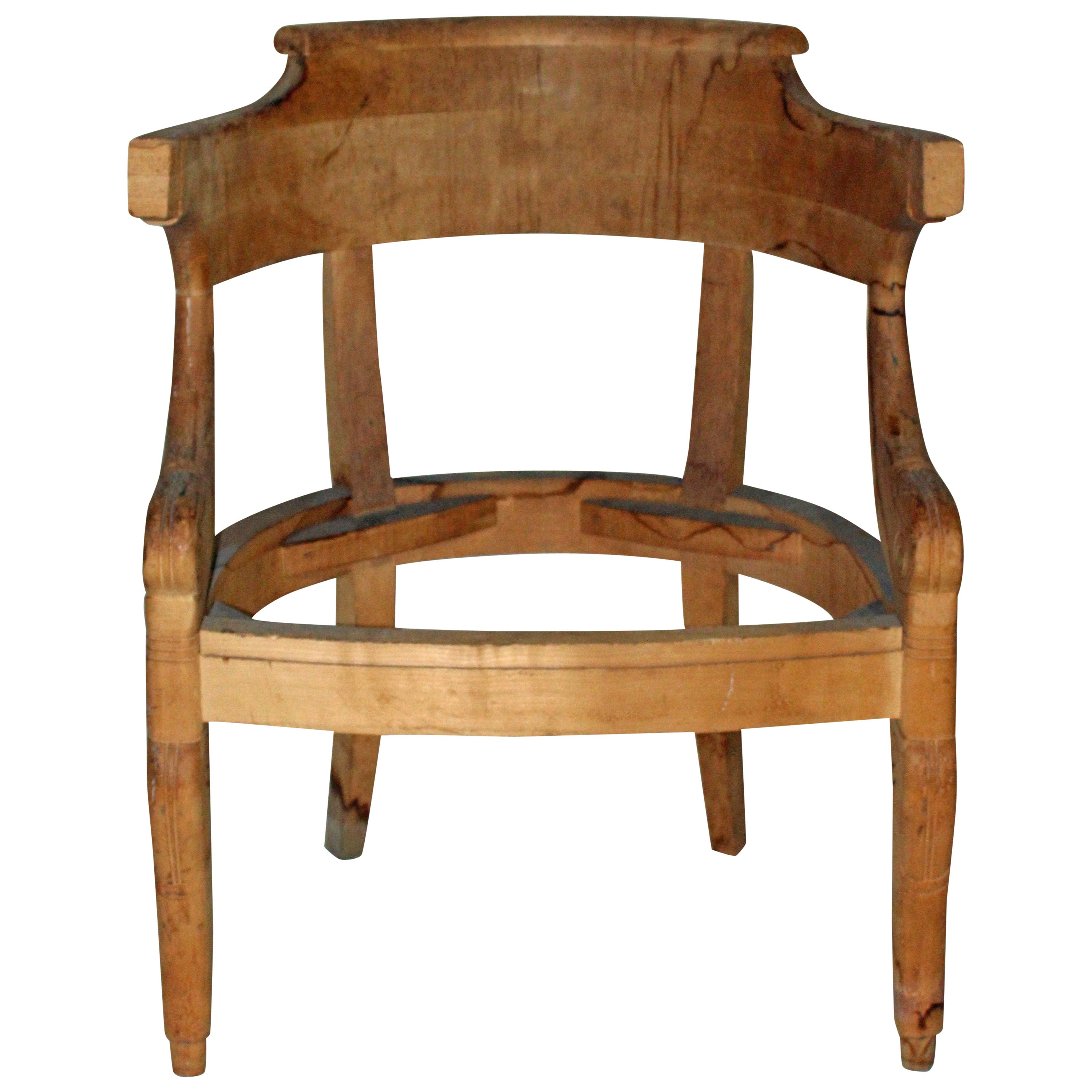 Nicely Carved and Detailed Side Chair Frames from the David Barrett Collection
