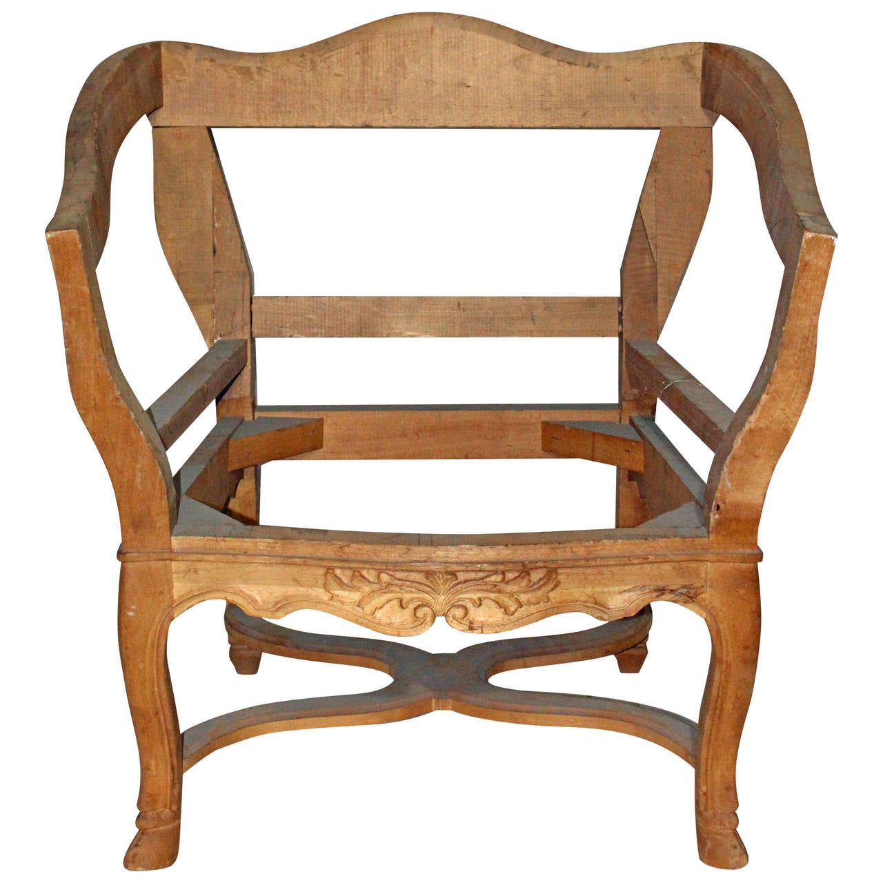 "Hollywood regency style ""Tulip"" chair frame"