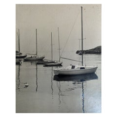 1940's Black & White New England Coastal Series