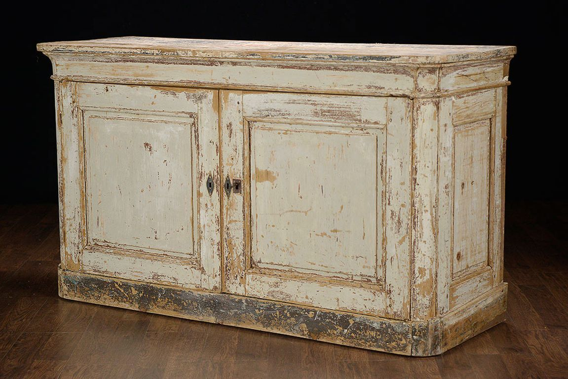 Antique French Painted Buffet Cabinet At 1stdibs