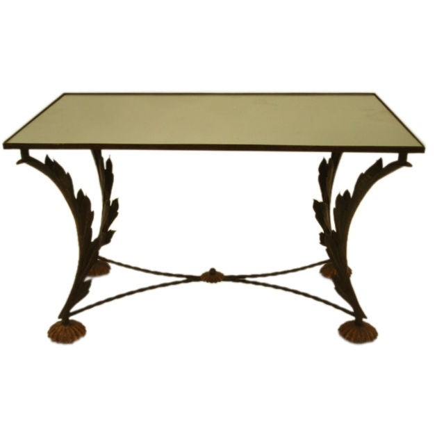Antique scroll coffee table for Table th scroll