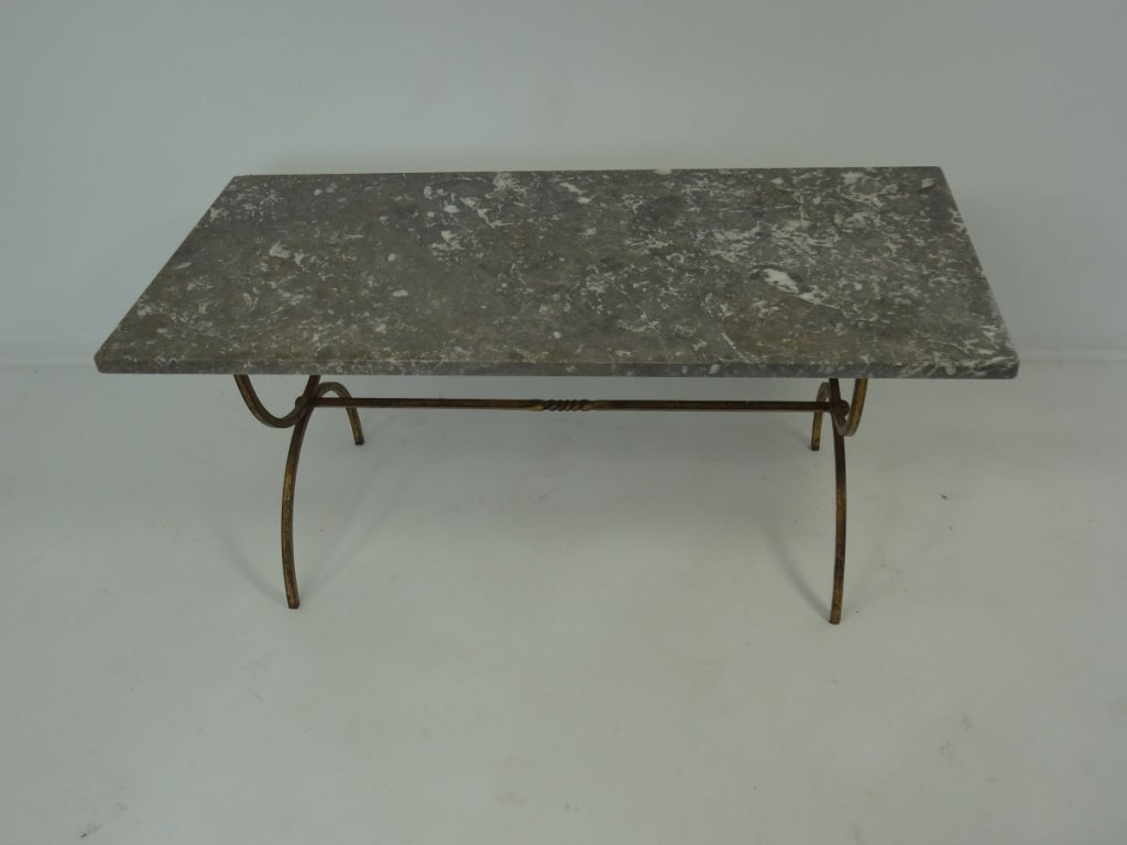 Antique French Marble Coffee Table At 1stdibs