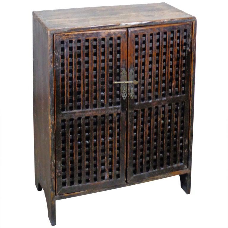 Antique Chinese Pine Lattice Cabinet at 1stdibs : XXXFARAC10124073 from 1stdibs.com size 768 x 768 jpeg 76kB