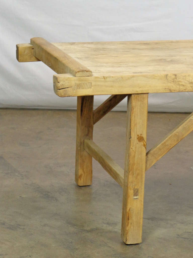 Antique Chinese Poplar Coffee Table At 1stdibs