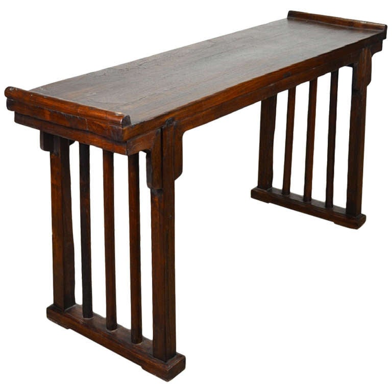 Antique chinese console table at stdibs