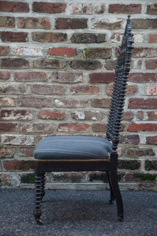 Gothic Revival Hall Chair 5
