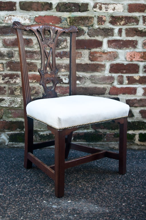 Handsome Chippendale Side Chair 2