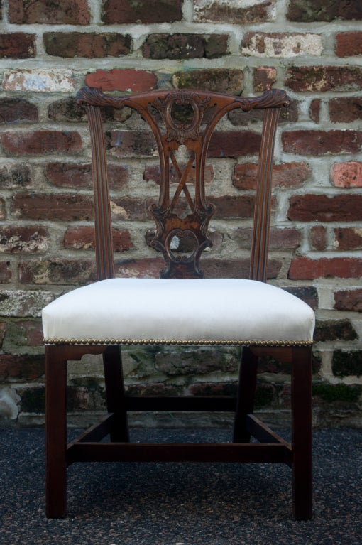 Handsome Chippendale Side Chair 3