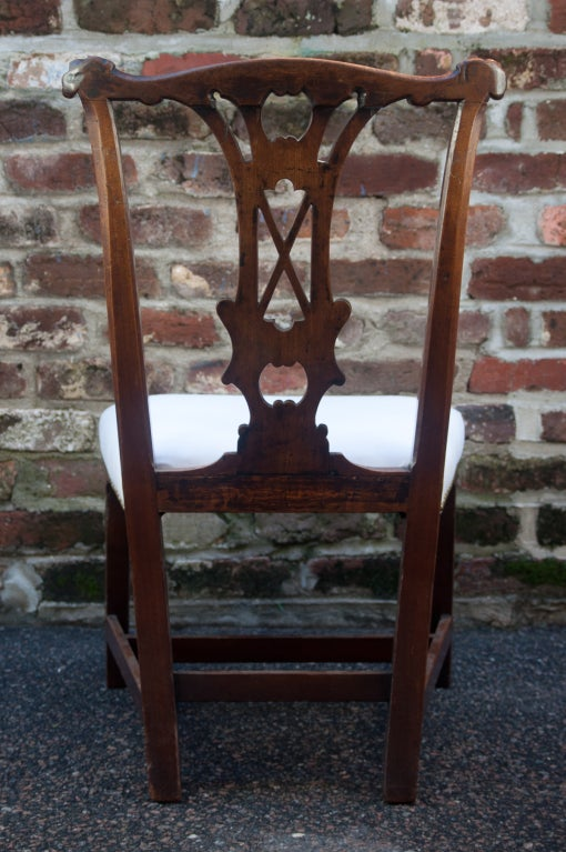 Handsome Chippendale Side Chair 5