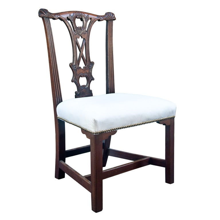 Handsome Chippendale Side Chair 1