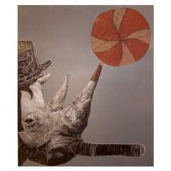 Rhino Grey (2012) by Domingo Zapata
