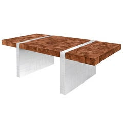 Exceptional Dining Table No. PE411 by Paul Evans