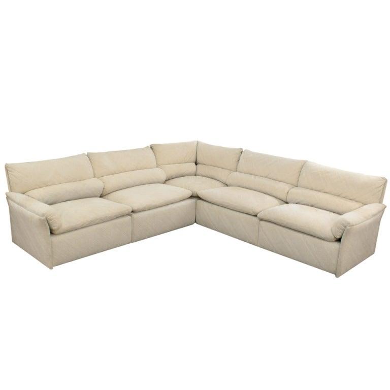 Sectional Sofa By Saporiti Italia At 1stdibs
