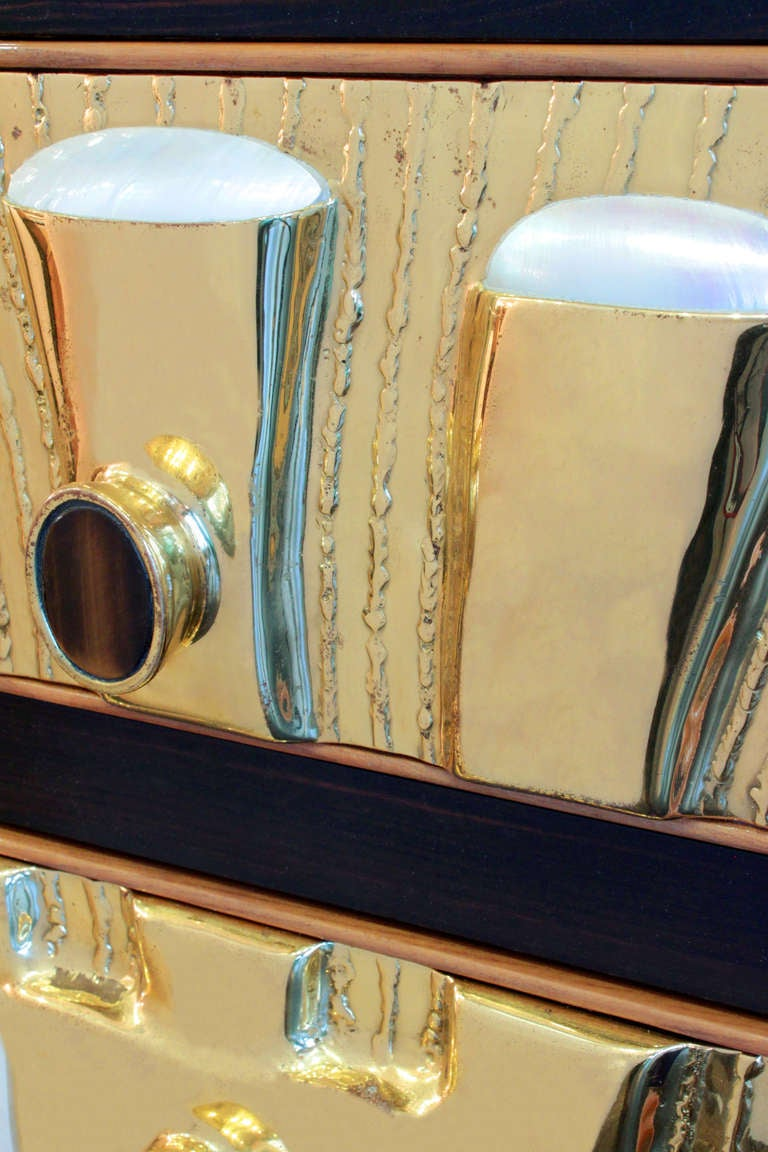 Rare and Exquisite Chest of Drawers by Jacques Duval-Brasseur 3