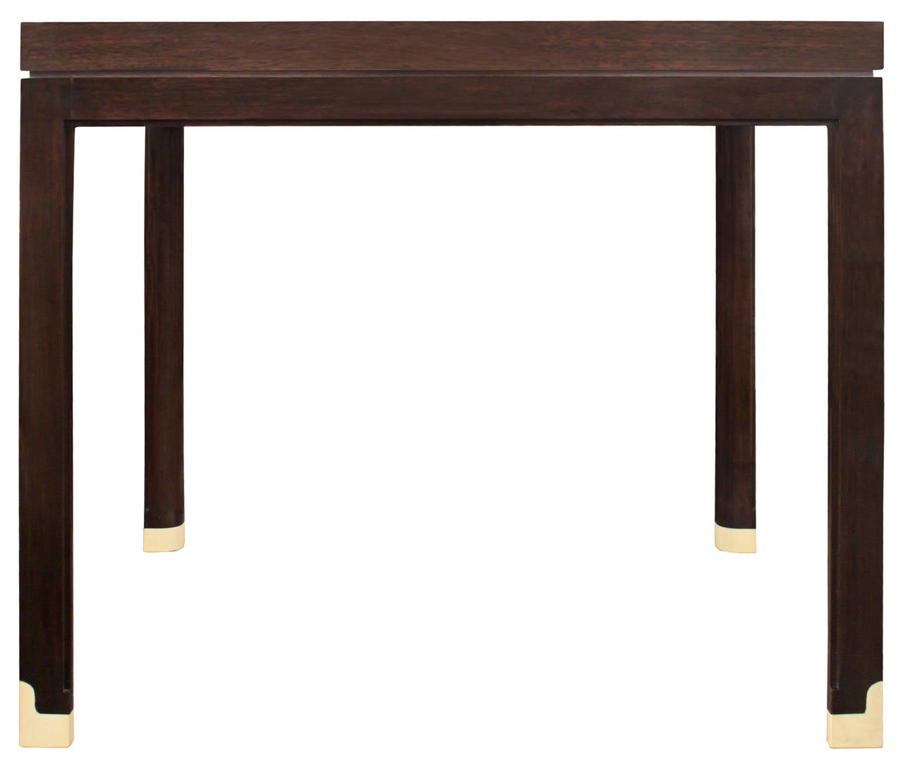 American Elegant Side Table with Inlays by Tommi Parzinger For Sale
