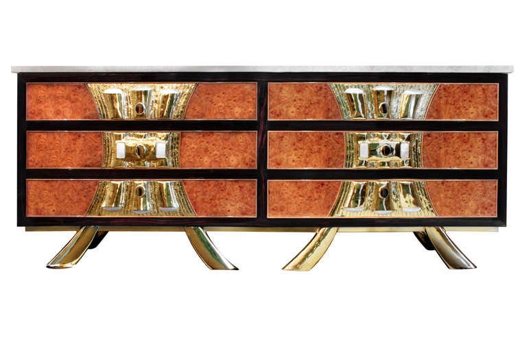 Rare and Exquisite Chest of Drawers by Jacques Duval-Brasseur 9