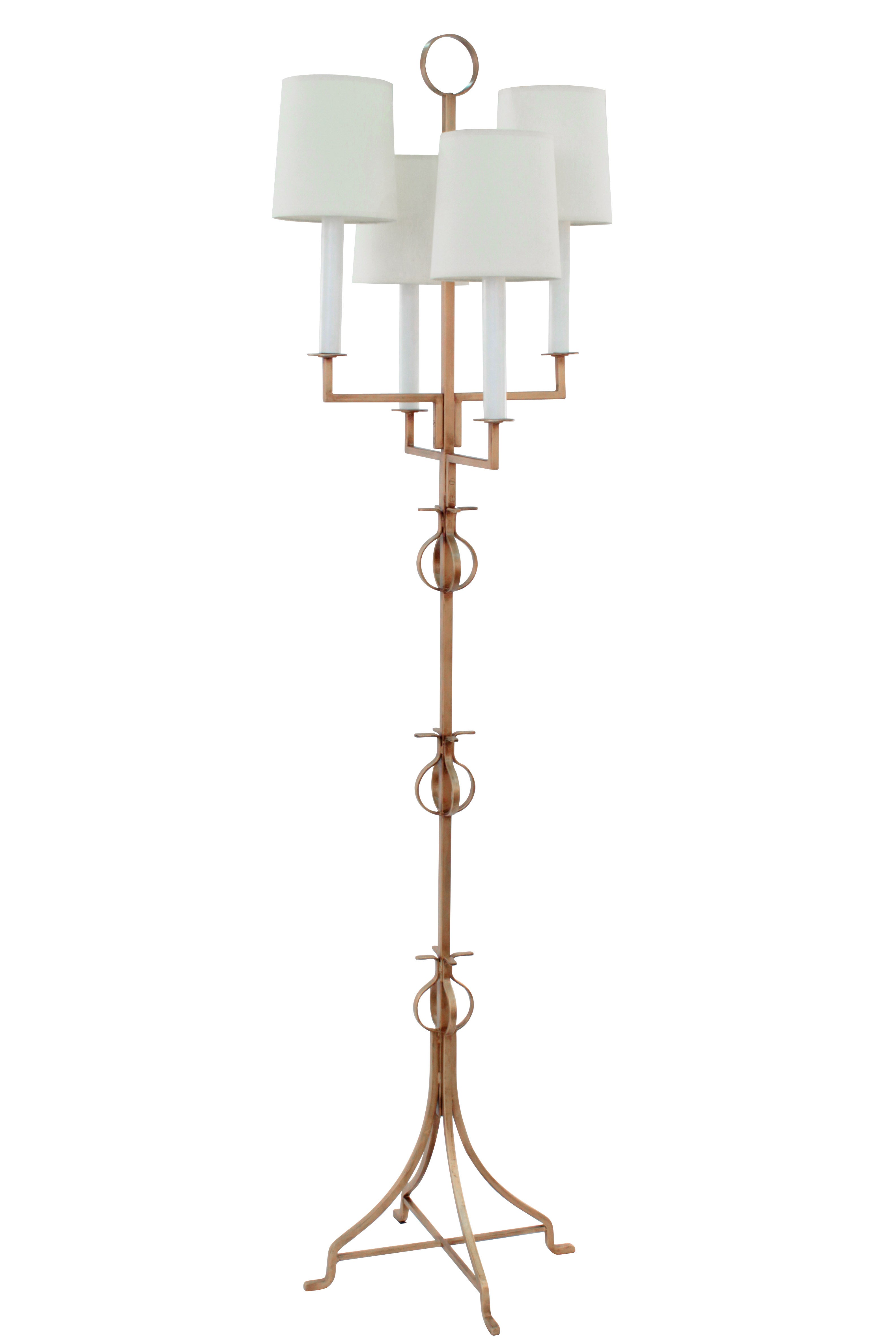 today home lamp product antique white lamps abbyson turnwood resin floor garden shipping overstock free
