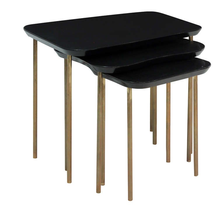 Set Of Nesting Tables By Charak Modern For Sale At 1stdibs