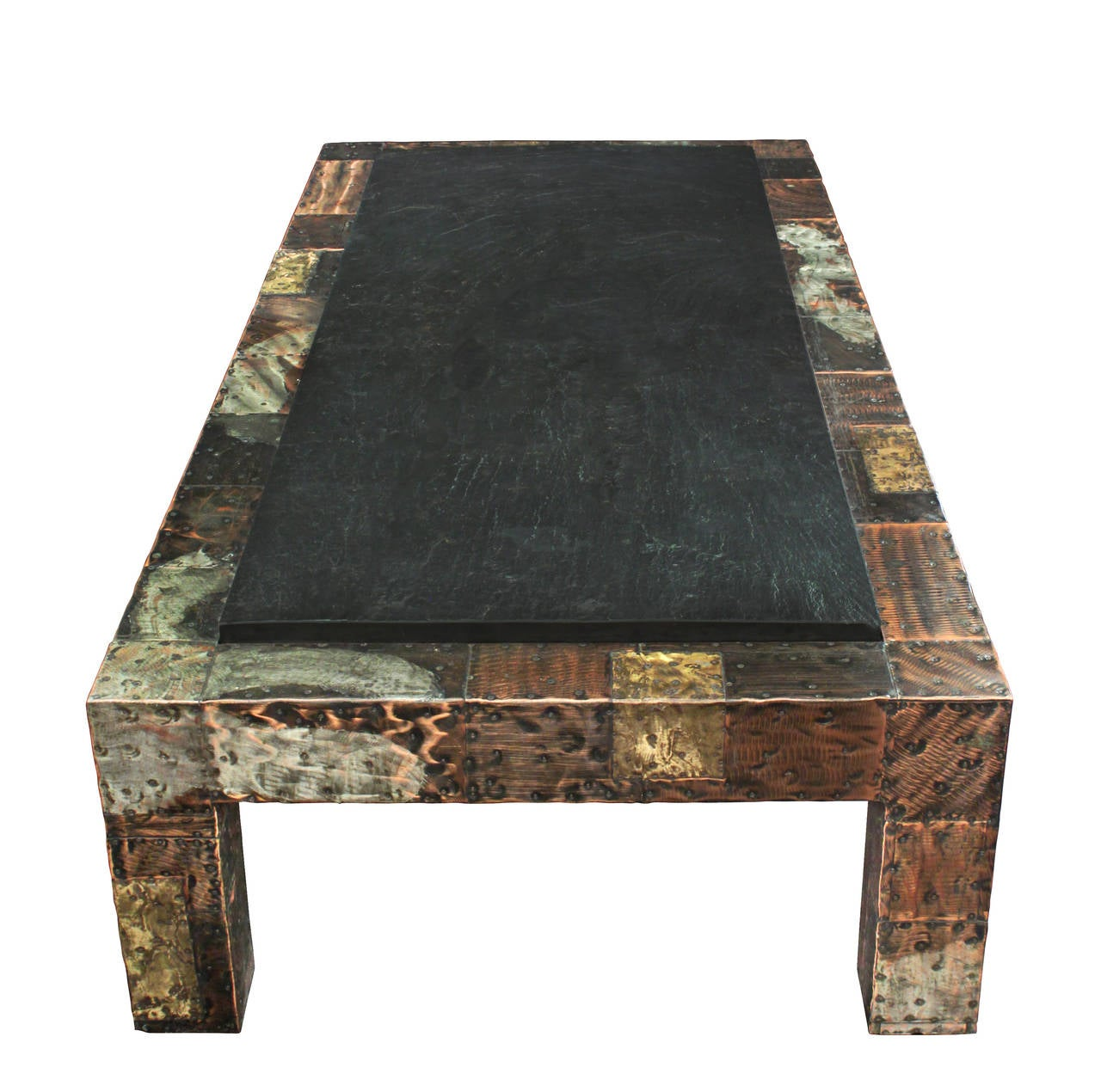 100 Slate Top Coffee Table Rustic Tile Coffee Table  : Evans180Patchworkslatetopcoffeetable369detail2hiresl from 45.32.79.15 size 1280 x 1270 jpeg 143kB