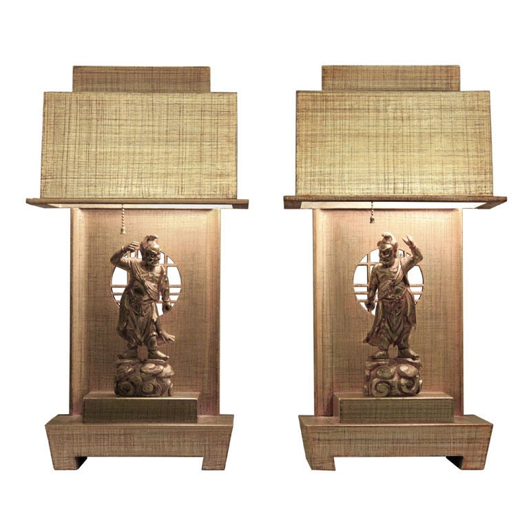 Asian style table lamps