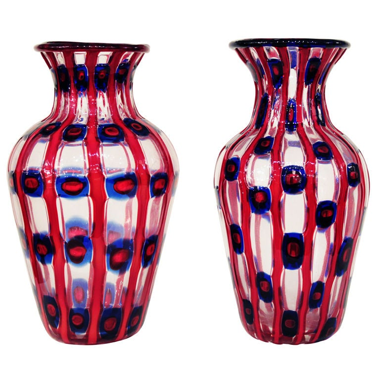 """""""Transennati"""" Vases by Anzolo Fuga"""