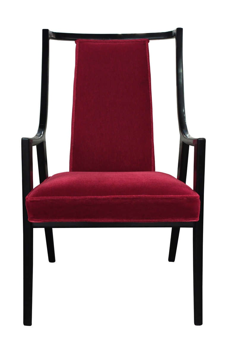 Set of 10 classic dining chairs by harvey probber at 1stdibs for Dining room 10 chairs